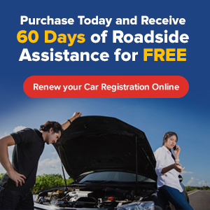 60 Days of FREE Roadside Assistance