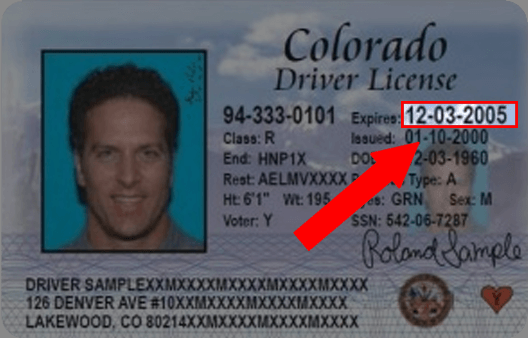 Colorado Drivers License