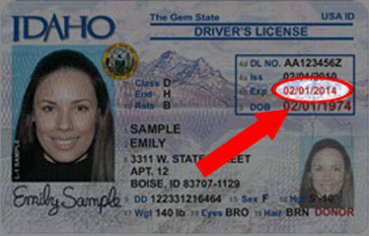 Idaho Drivers License