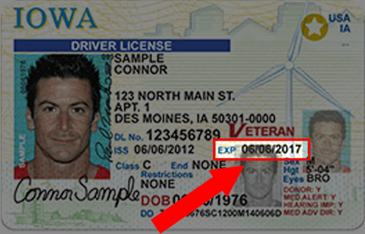 Iowa Drivers License
