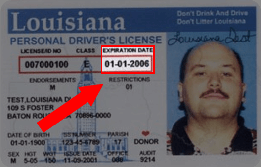 Louisiana Drivers License