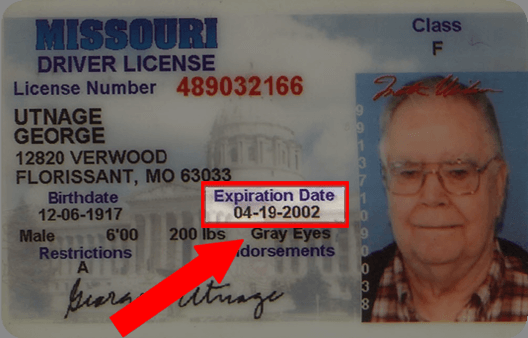 Missouri Drivers License