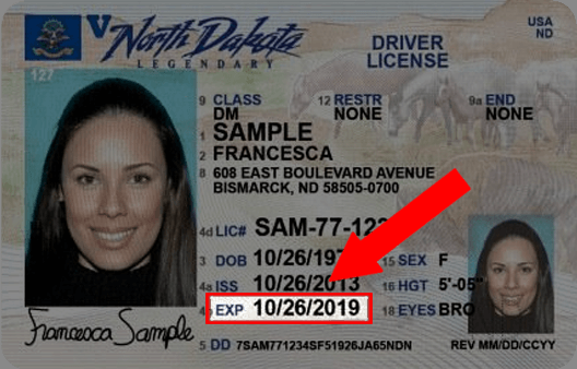 North Dakota Drivers License