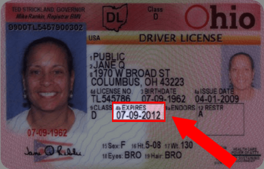 Ohio Drivers License