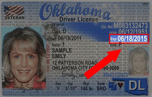 Oklahoma Drivers License