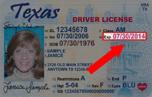 update address texas drivers license