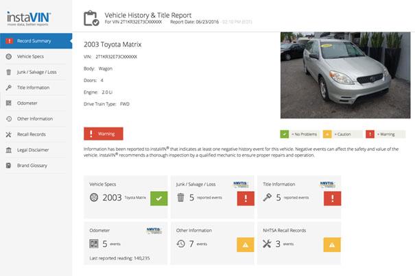 VIN Lookups | DMV com